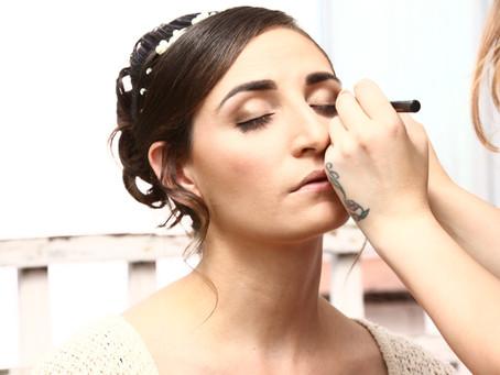 Bridal Make-up Preparation