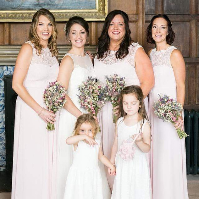 Another beautiful bridal party! My last