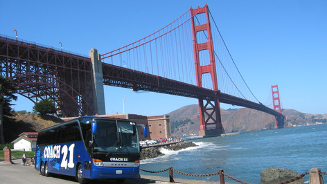 Coach 21 serves the SF Bay Area