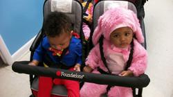 babys dressed up