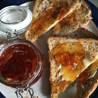 2021 First Make.... vintage  Orange Marmalade