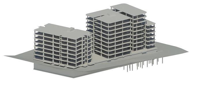 MULTISTORIED BUILDING MODEL