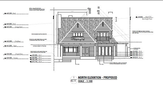 European style house drafting