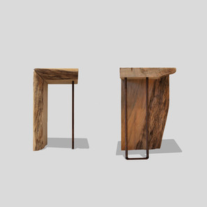 his + hers side tables