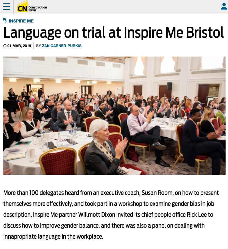 Susan Room attending Inspire Me, Bristol