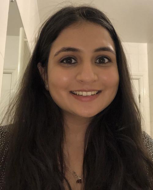 Karissa Shah, Kings College, London