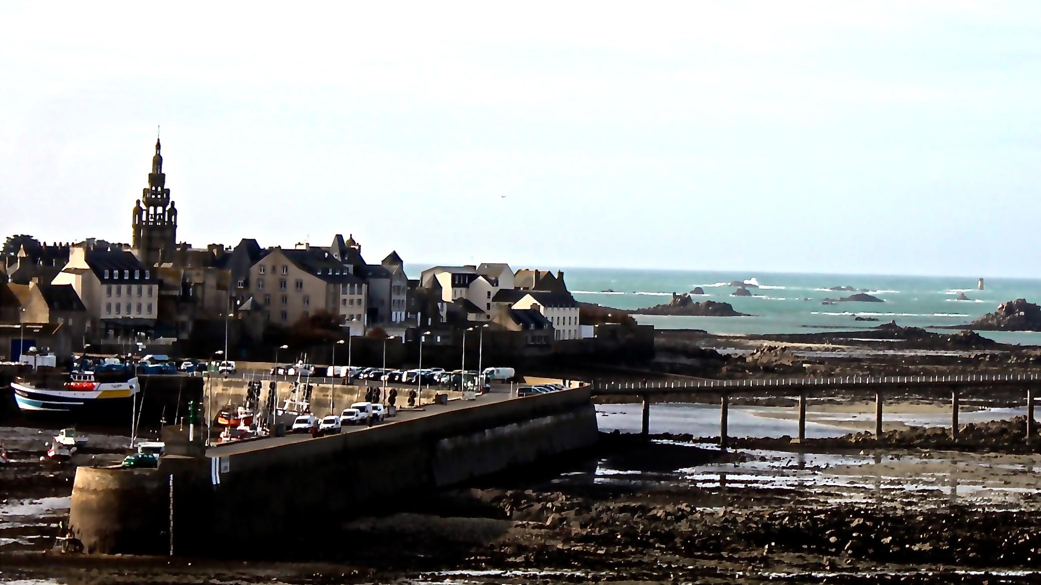 Roscoff-Vue-Sainte-Barbe-maérée-basse-