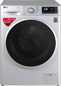 LG 8 kg  Fully Automatic Front Load Washing Machine (FHT1408SWL)