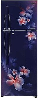 LG 260 L 4 Star Inverter Frost-Free Doube-Door Refrigerator (GL-T292RBPN, Blue P