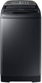 Samsung 7 kg Fully Automatic Top Load Black  (WA70M4400HV/TL)