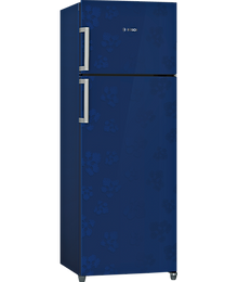 BOSCH 288 L 3 Star Frost Free Double Door Refrigerator (Midnight Blue,KDN30VU30I