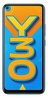 Vivo Y30 (Dazzle Blue, 4GB RAM, 128GB Storage)