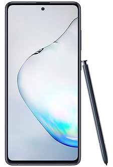 Samsung Galaxy Note10 Lite (Aura Black, 6GB RAM, 128GB Storage)