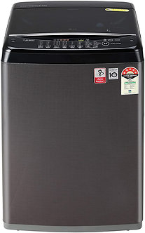 LG 6.5 Kg  Top Loading Washing Machin5e (T65SJBK1Z, Black Knight Pattern)