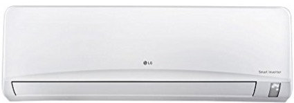 LG 1 Ton 3 Star Inverter Split AC (Aluminum JS-Q12NPXA1 White)