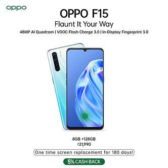 OPPO F15 (128 GB) / (8 GB RAM)