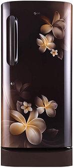 LG 215 L 5 Star Inverter Direct Cool Single Door Refrigerator (GL-D221AHPY, Haze