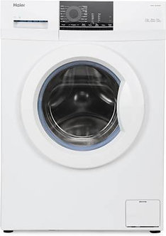 Haier 6 kg Fully Automatic Front Load with In-built Heater White  (HW60-10829NZP