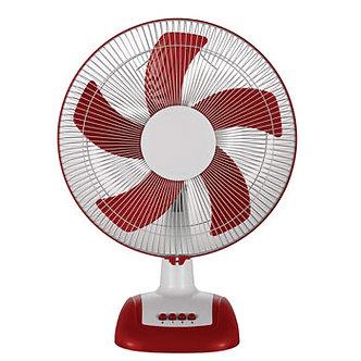 V-Guard Finesta TF Prime 16 (White Red) Table Fan