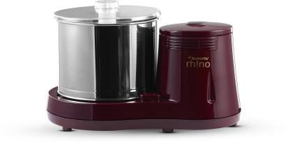 Butterfly Rhino 2 Ltr Wet Grinder  (Cherry Red)