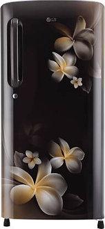 LG 190 L Direct Cool Single Door 5 Star Refrigerator  (Hazel Plumeria, GL-B201AH
