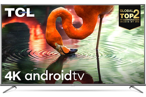 TCL 108 cm (43 inches) 4K Ultra HD Smart Certified Android LED TV 43P8E
