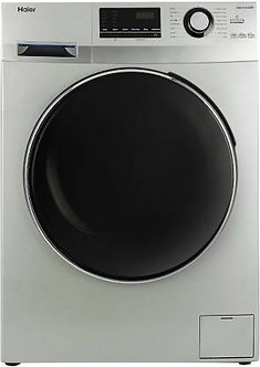 Haier 6.5 kg Fully Automatic FrontLoad with In-built Heater Grey(HW65-B10636NZP)