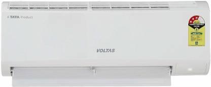 Voltas 1 Ton 3 Star Split AC - White  (123 DZX(R32), Copper Condenser)