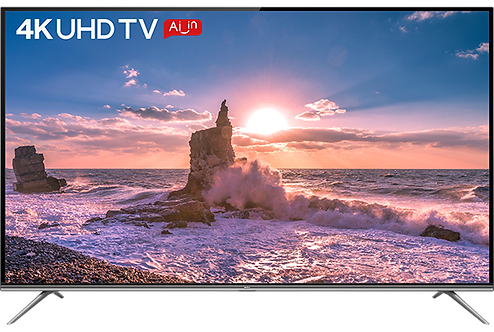 TCL 138.78 cm (55 inches)  AI 4K UHD Certified Android Smart LED TV 55P8