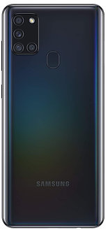 Samsung Galaxy A21s (Black, 4GB RAM, 64GB Storage)