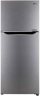 LG 260 L 2 Star Inverter Frost-Free Doube-Door Refrigerator (GL-N292KDSR, Dazzle