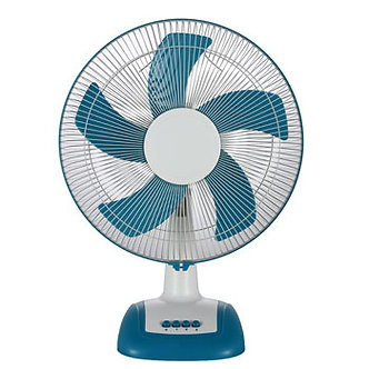 V-Guard Finesta TF Prime 16 (White Blue) Table Fan