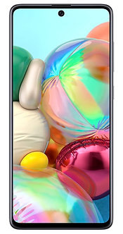Samsung Galaxy A71 (Prism Crush Silver, 8GB RAM, 128GB Storage)