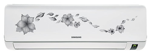 Samsung AR18KC2HATR Split AC (1.5 Ton, 2 Star Rating, Grey, Aluminium)