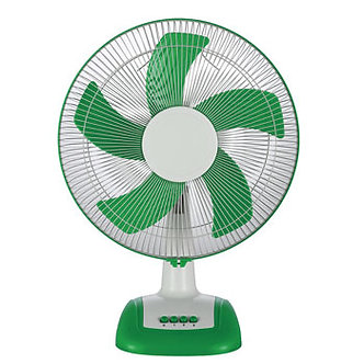V-Guard Finesta TF Prime 16 (White Green) Table Fan