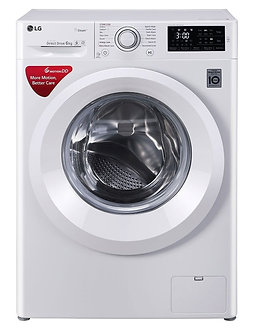 LG 6.0 Kg Inverter Fully-Automatic Front Loading Washing Machine (FHT1006HNW, Bl