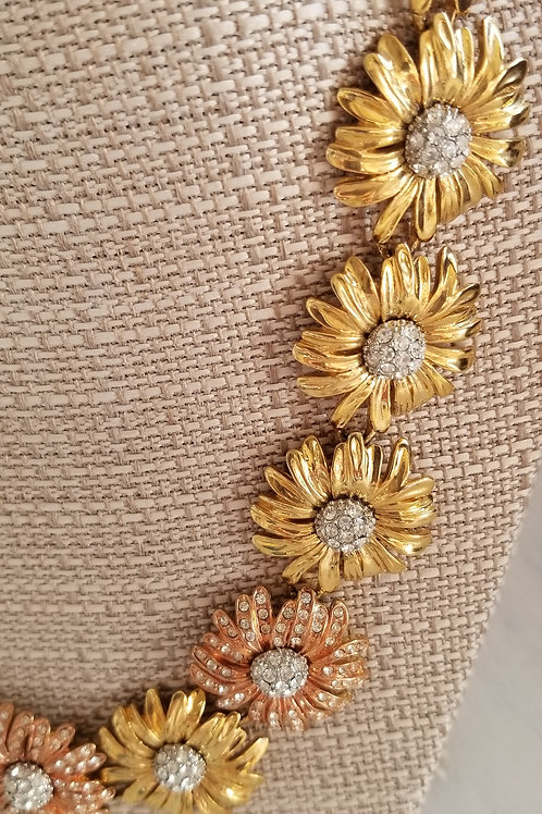 1970s Gold & Bronze Necklace