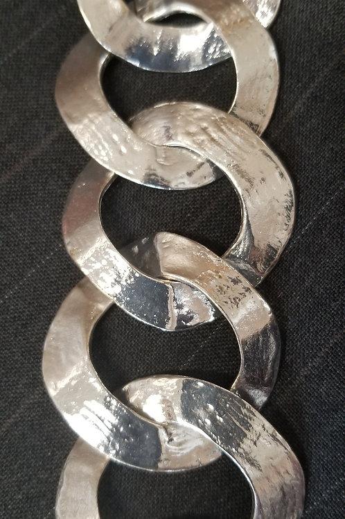 Silver Ringlet Bracelet