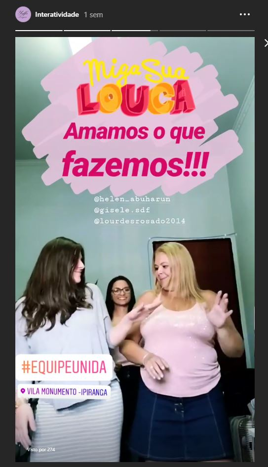 dança stories