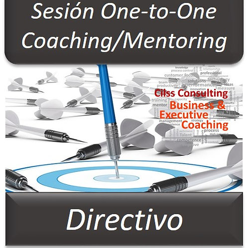 Coaching/Mentoring Directivo - One to One (Sesión de 1Hora)