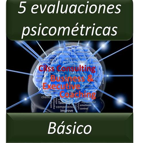 Paquete Básico - 5 Pruebas Psicométricas
