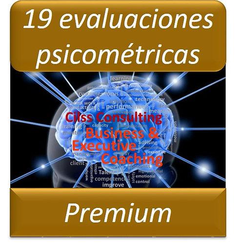 Paquete Premium - 19 Pruebas Psicométricas