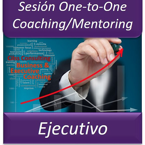Coaching/Mentoring Ejecutivo -  One to One (Sesión de 1Hora)