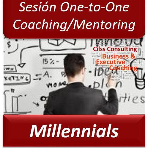 Coaching/Mentoring Millennials - One to One (Sesión de 1Hora)
