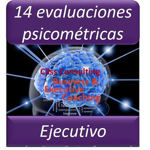 Paquete Ejecutivo - 14 Pruebas Psicométricas