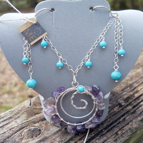 1504en - Necklace and Earring Set