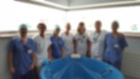 L'équipe sages-femmes, puéricultrices et auxiliaires de puériculture