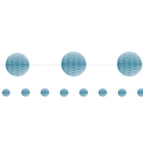 Blue Honeycomb Garland