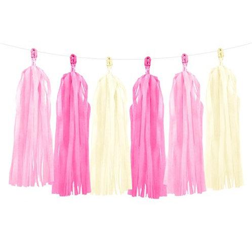 Pink Tassel Garland