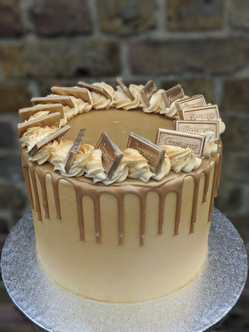All Gold Caramac Cake